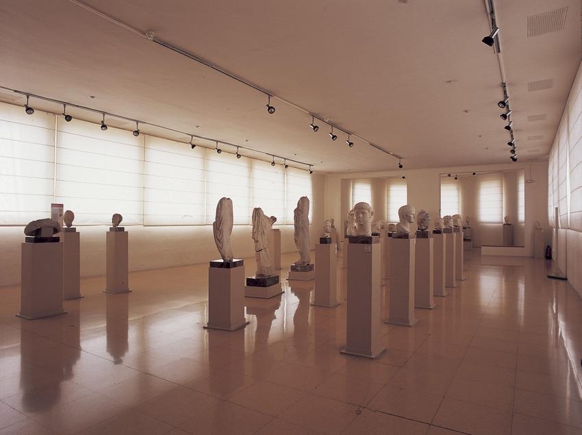 Sala del Museu Nacional Arqueològic de Tarragona.  (Imagen M.A.S.)