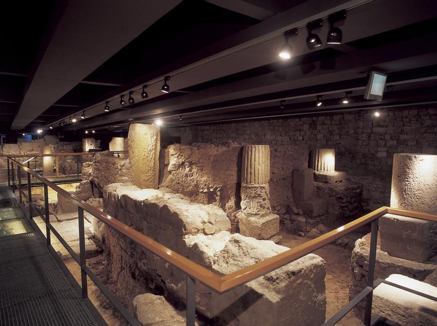 Restes arqueològiques de la ciutat romana. Museu d'Història de la Ciutat.  (Imagen M.A.S.)