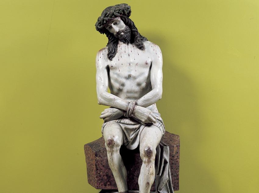 Ecce Homo (1500). Museu-Monestir de Pedralbes. (Imagen M.A.S.)
