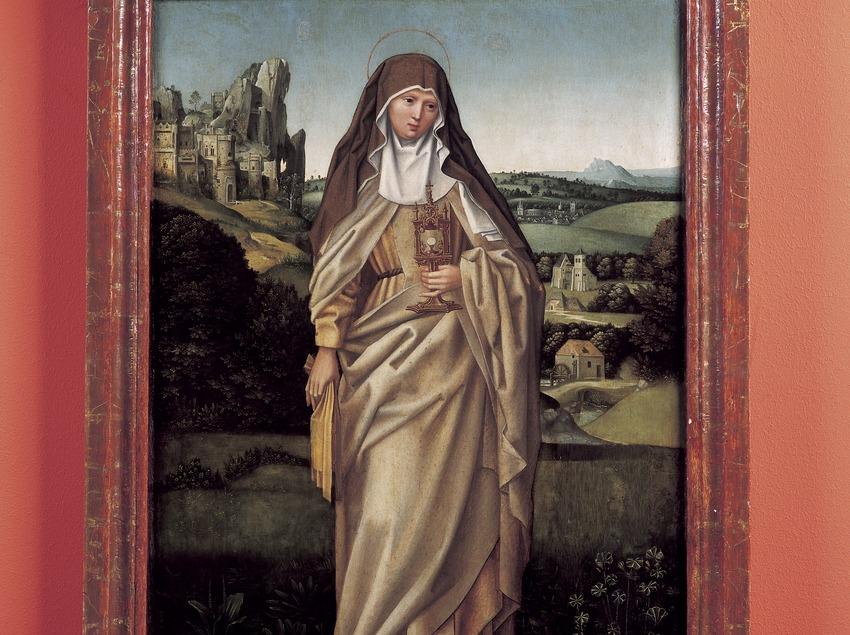 Óleo sobre tela (siglo XVI). Museo-Monasterio de Pedralbes. (Imagen M.A.S.)