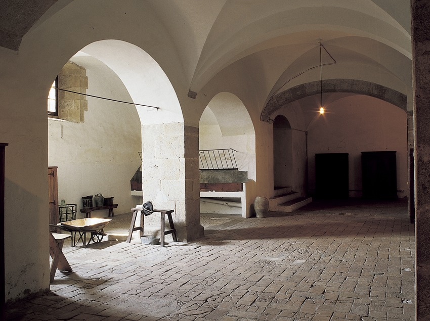 Enfermería del monasterio de Pedralbes. (Imagen M.A.S.)