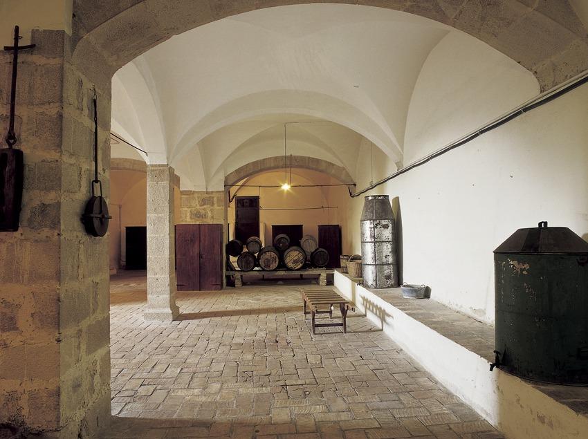 Bodega del monasterio de Pedralbes. (Imagen M.A.S.)