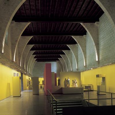 Sala del Museu-Monestir de Pedralbes. (Imagen M.A.S.)