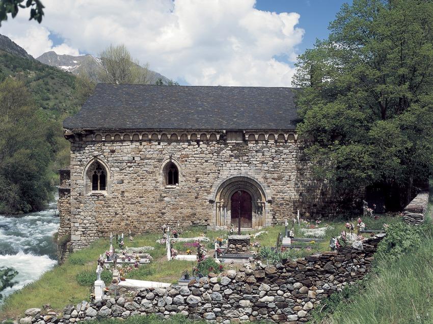 Iglesia de Sant Joan d'Isil.  (Imagen M.A.S.)