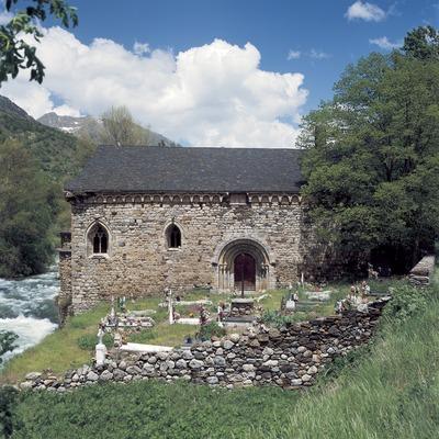 Iglesia de Sant Joan d'Isil.