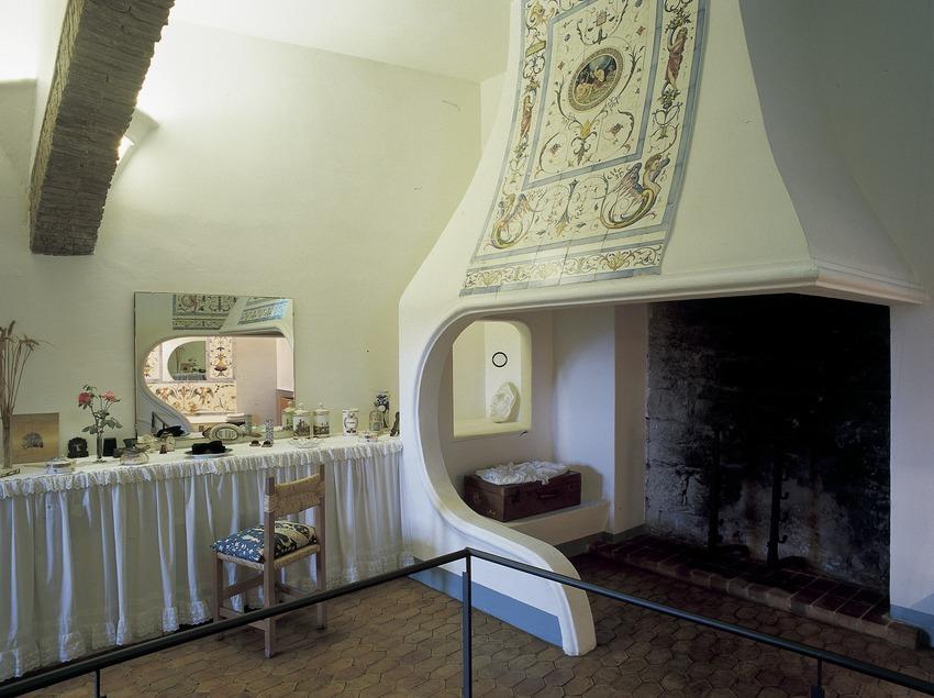 Sala de la Casa-Museu Castell Gala Dalí de Púbol  (Imagen M.A.S.)