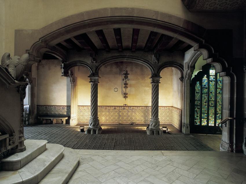 Vestíbulo de la Casa Amatller.  (Imagen M.A.S.)