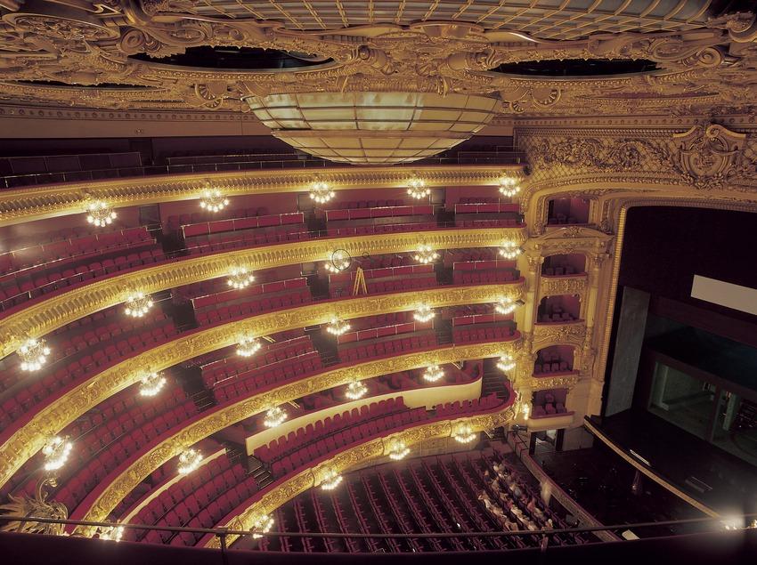 Sala del Gran Teatre del Liceu.