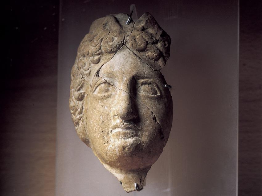 Bust (segle I d.C.). Museu d'Història de la Ciutat.  (Imagen M.A.S.)
