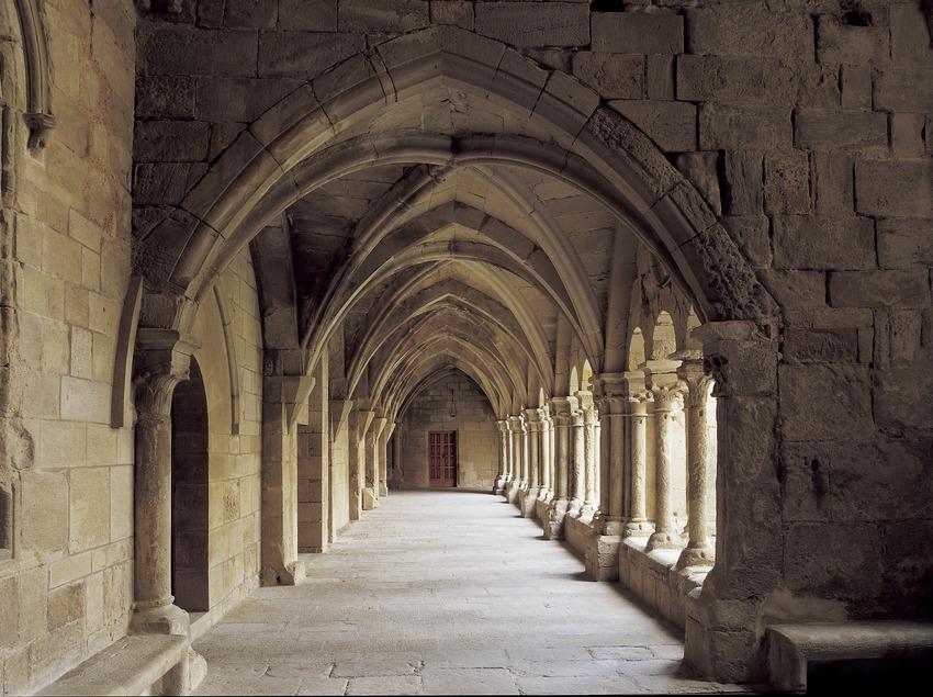 Aile du cloître du monastère royal Santa Maria de Vallbona.  (Imagen M.A.S.)