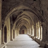 Wing of the cloister of the Royal Monastery of Santa Maria de Vallbona.  (Imagen M.A.S.)
