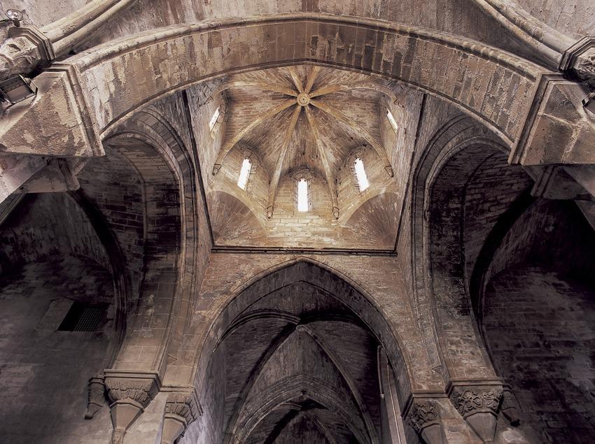 Transept of the church of the Royal Monastery of Santa Maria de Vallbona.  (Imagen M.A.S.)