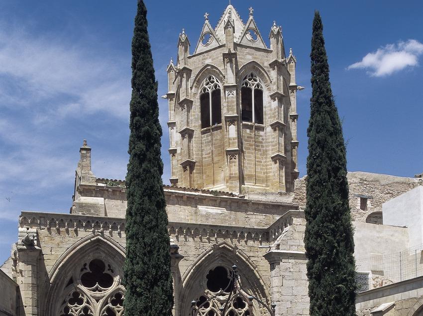 Pati del claustre del Reial Monestir de Santa Maria de Vallbona.  (Imagen M.A.S.)