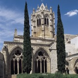 Courtyard of the cloister of the Royal Monastery of Santa Maria de Vallbona.  (Imagen M.A.S.)