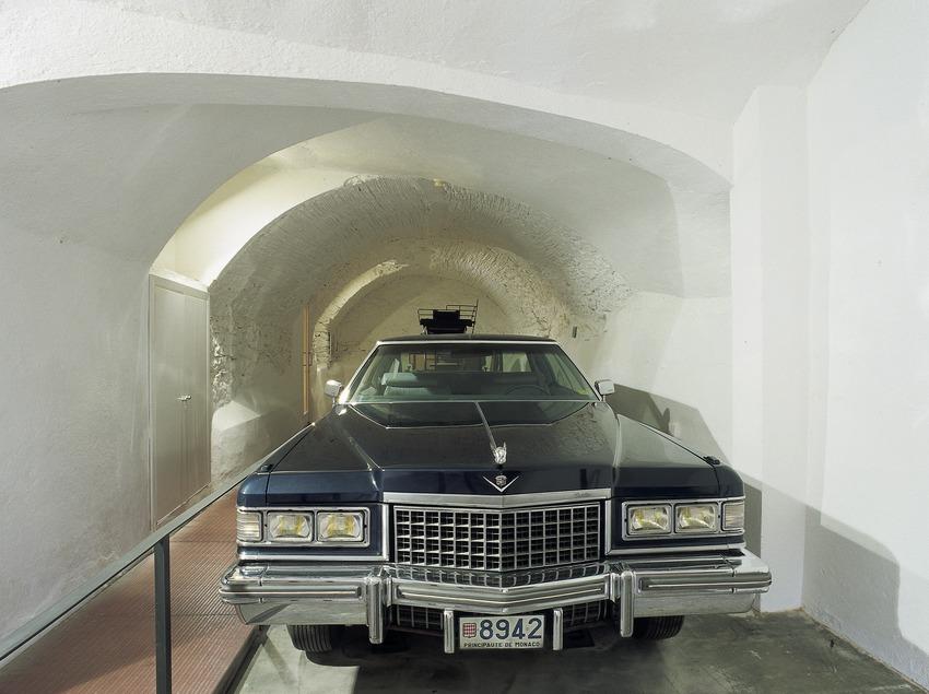 Automòbil de Salvador Dalí al garatge de la Casa-Museu Castell Gala Dalí de Púbol  (Imagen M.A.S.)