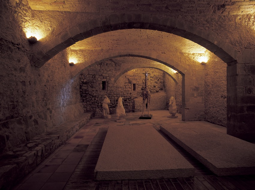 Crypt of the House-Museum Gala Dalí Castle in Púbol  (Imagen M.A.S.)