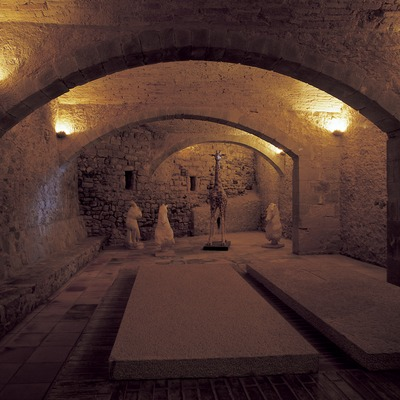 Cripta de la Casa-Museu Castell Gala Dalí de Púbol  (Imagen M.A.S.)