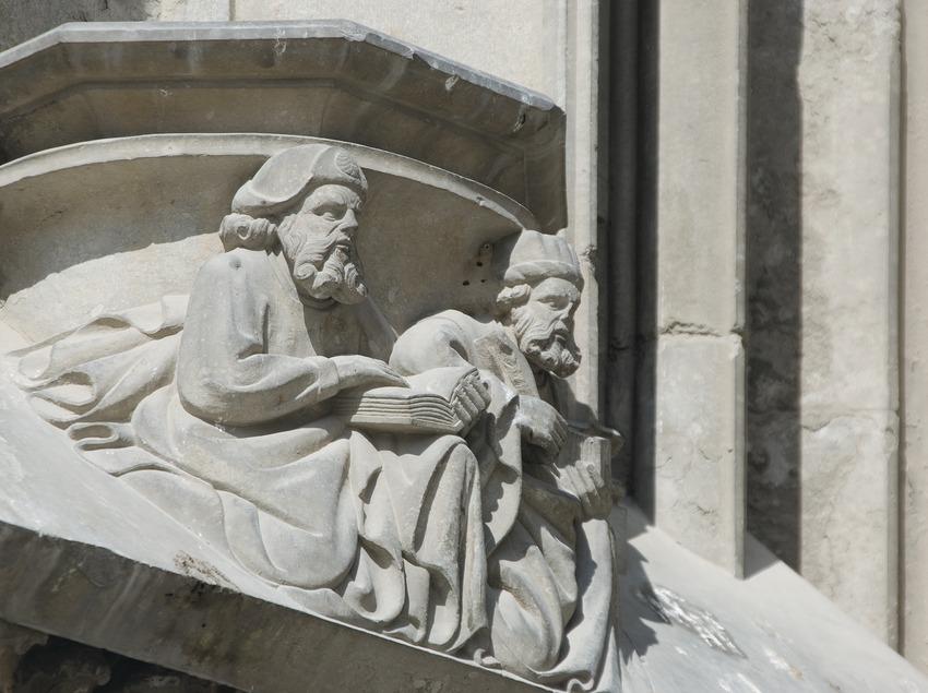 Detall ornamental de la façana lateral de la Catedral  (Servicios Editoriales Georama)