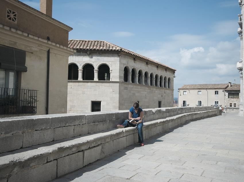 Balcó de la catedral  (Servicios Editoriales Georama)