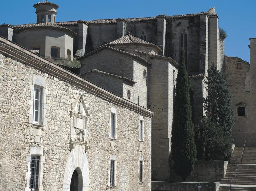 Convent de Sant Domènec, actual facultat de Lletres  (Servicios Editoriales Georama)
