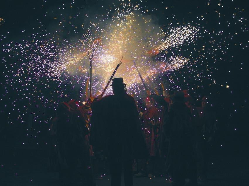 Diablos del correfoc de las Fiestas de la Mercè  (Servicios Editoriales Georama)