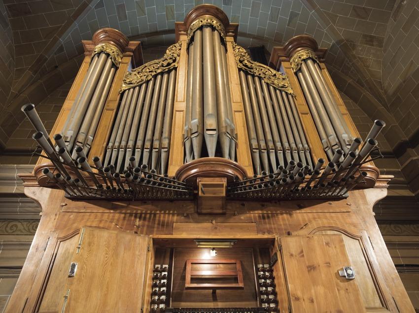 Organ in the church of Sant Salvador  (Nano Cañas)