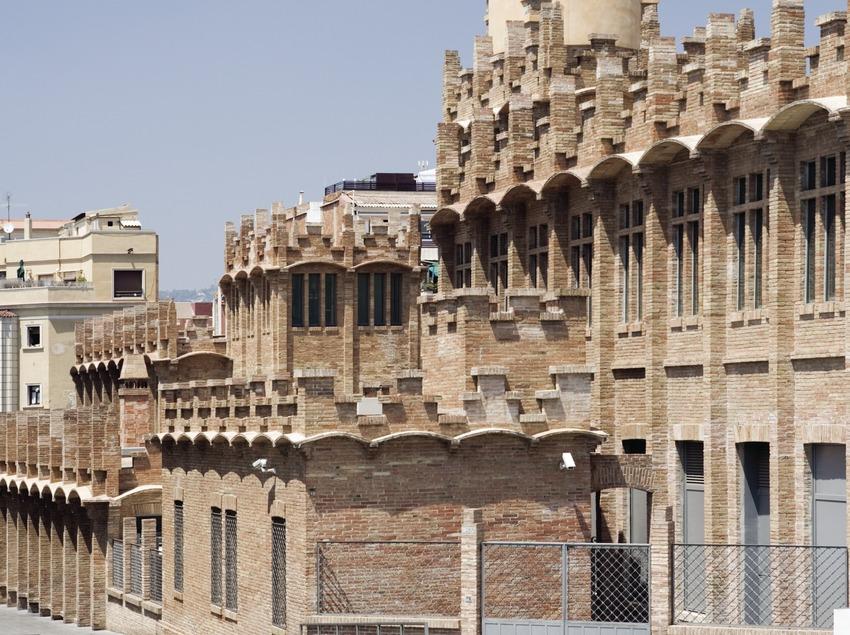 CaixaForum Barcelona, antiga fàbrica Casaramona.  (Nano Cañas)