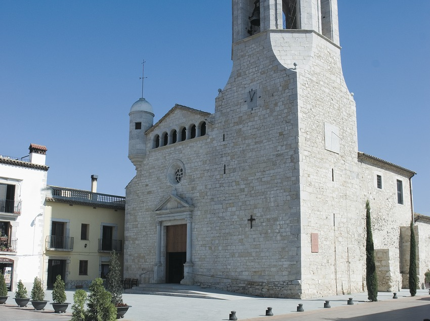 Església fortificada de Sant Cugat  (Servicios Editoriales Georama)