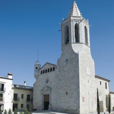 Iglesia fortificada de Sant Cugat  (Servicios Editoriales Georama)