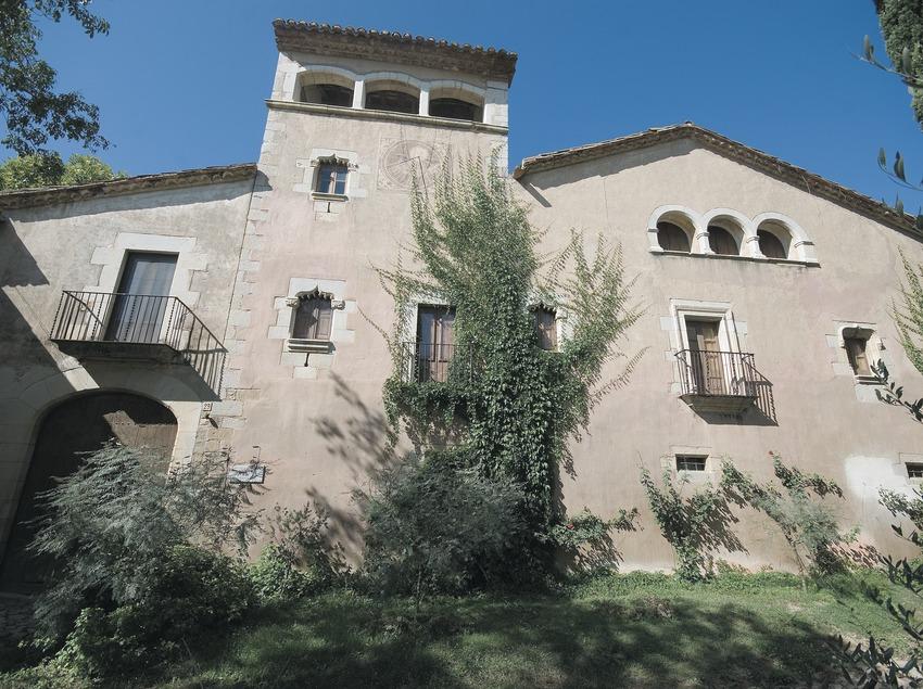 Fachada del Museo de Can Santamaria de Raset  (Servicios Editoriales Georama)