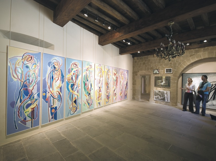 Sala del Museo de Can Santamaria de Raset  (Servicios Editoriales Georama)