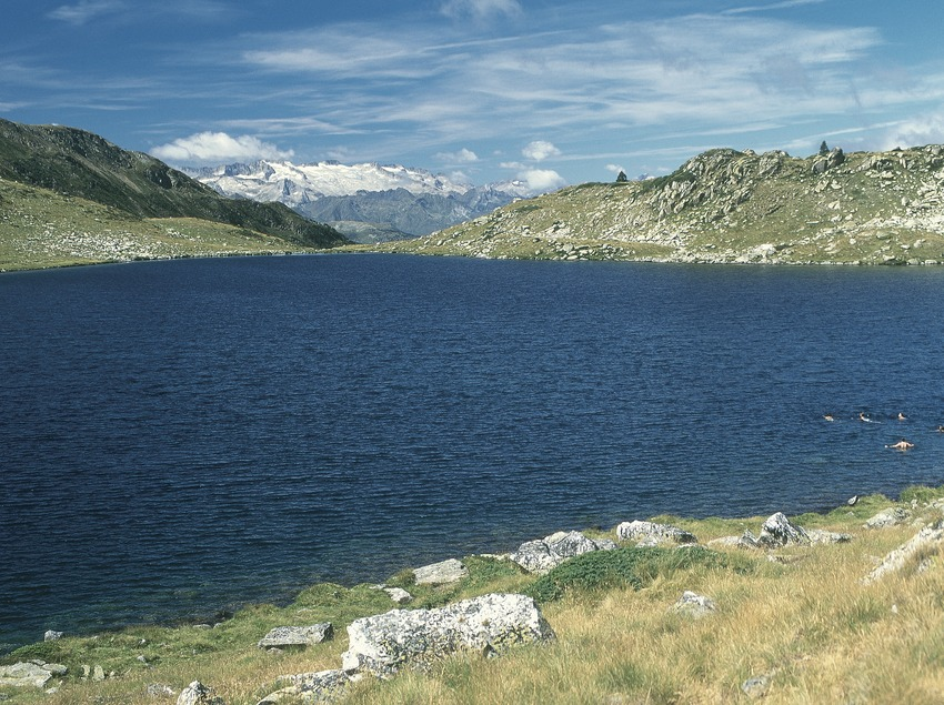 Lago helado de Rosari