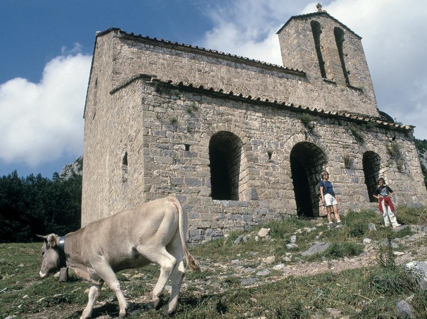 Church of Sant Pere de Montgrony