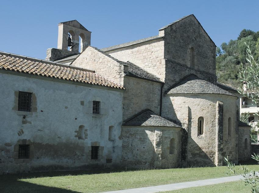 Iglesia del monasterio de Santa Maria de Cervià  (Servicios Editoriales Georama)