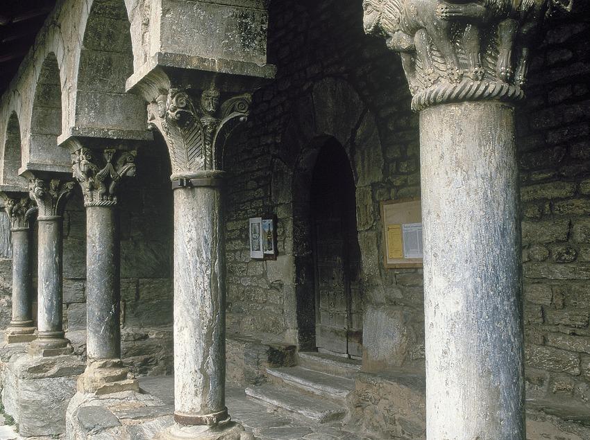 Claustre de l'església de Sant Jaume
