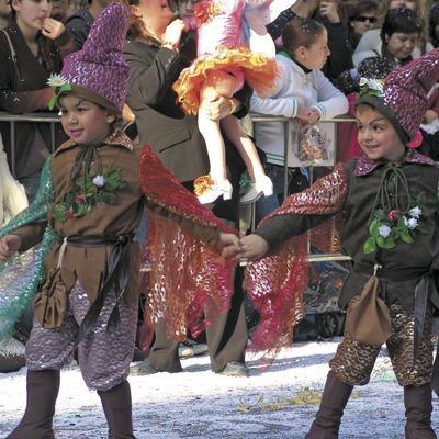Comparse du défilé du carnaval de Sitges