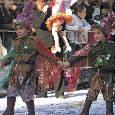 Comparsa de la rua del Carnaval de Sitges