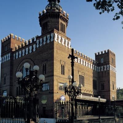 Castell dels Tres Dragons, de Lluís Domènech i Montaner.  (Imagen M.A.S.)