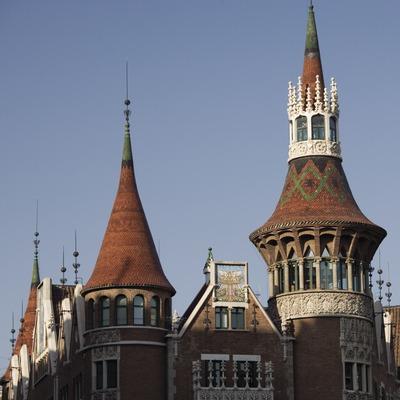 Casa de les Punxes o Casa Terrades, de Puig i Cadafalch.  (Nano Cañas)