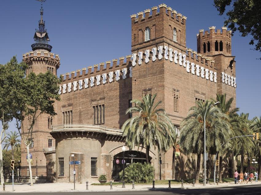 Castillo de los Tres Dragones, de Lluís Domènech i Montaner.  (Nano Cañas)