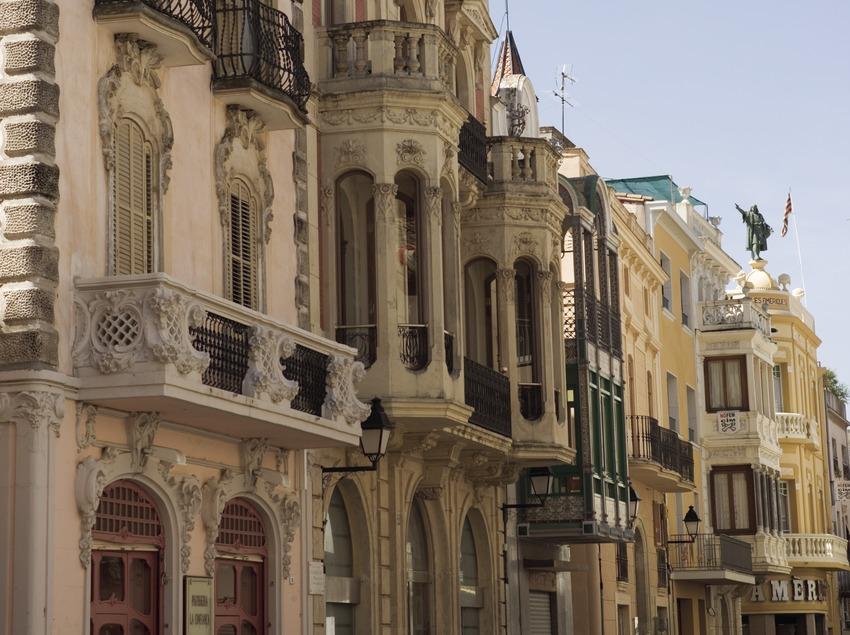 Casas modernistas.