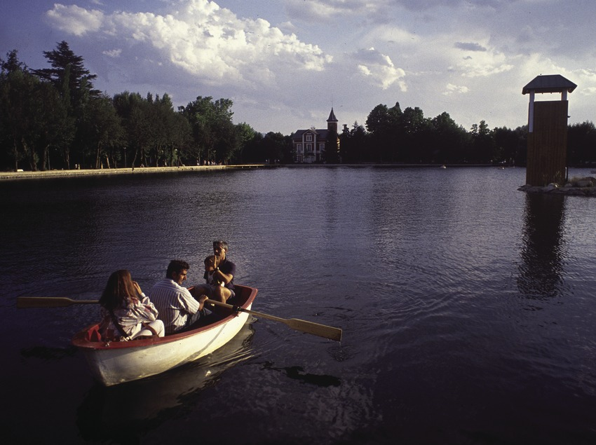 Der See von Puigcerdà und der Schierbeck-Park
