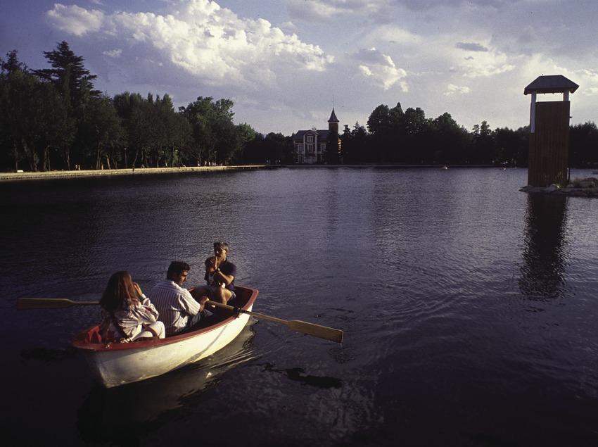 Lago de Puigcerdà y parque Schierbeck