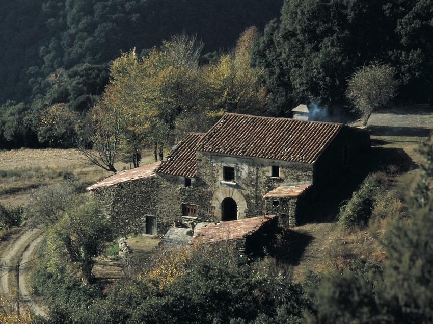 Masía en el macizo del Montseny