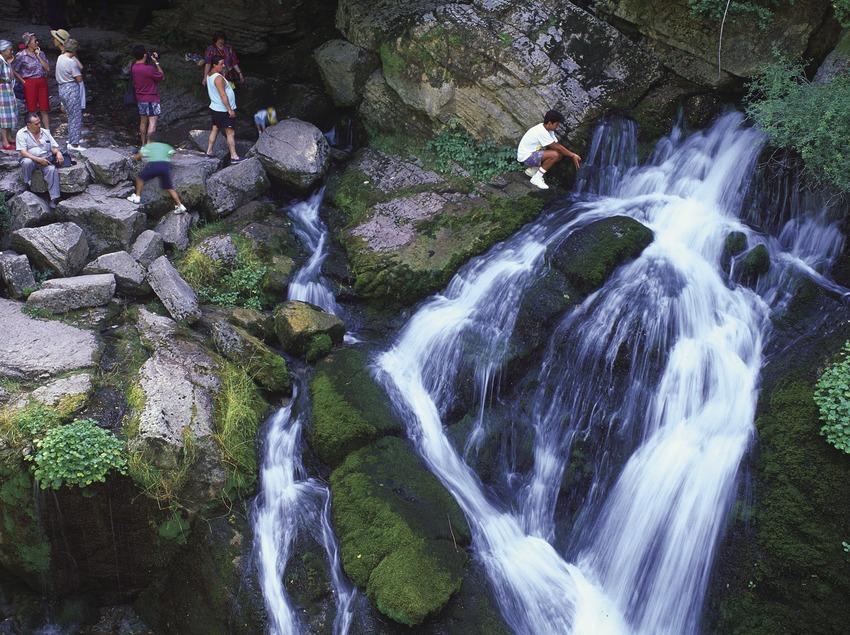 Fuentes del Llobregat en el Parque Natural Cadí-Moixeró.