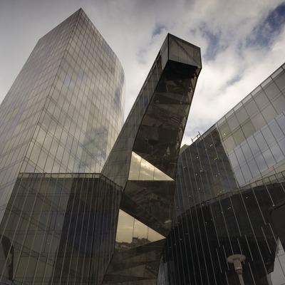 Torre Mare Nostrum, d'Enric Miralles i Benedetta Tagliabue, seu de Gas Natural.  (Nano Cañas)