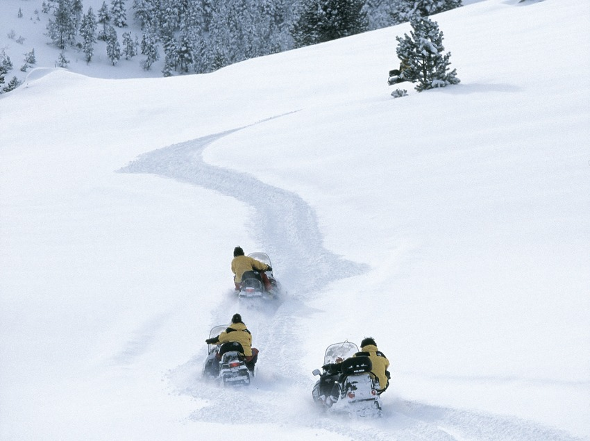 Motoneiges Spot Ski.  (Daniel Julián)