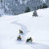 Motos de nieve. Spot Ski.  (Daniel Julián)