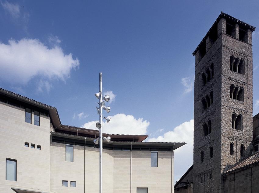 Façana del Museu Episcopal. (Imagen M.A.S.)