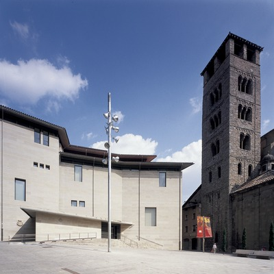 Fassade des Bischöflichen Museums (Imagen M.A.S.)